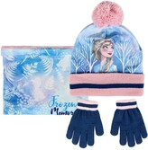 Nickelodeon Girls Paw Patrol Heart Shape Scarf Hat /& Glove Set