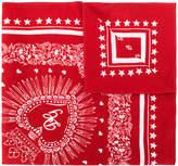 Dolce & Gabbana crest print scarf