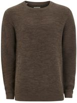 Selected Brown Vince Bubble' Sweater
