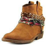 Coolway Nywest Women Round Toe Leather Brown Ankle Boot.