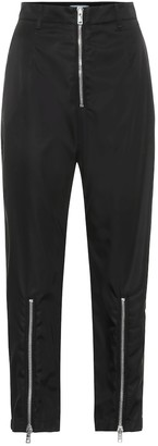 Prada High-rise straight zip-front pants