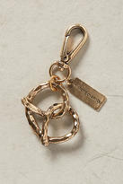 Anthropologie Pretzel Keychain