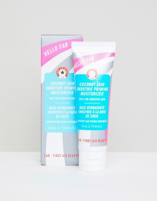 First Aid Beauty Hello FAB Coconut Skin Smoothie Priming Moisturizer 1.7 fl oz-No Color