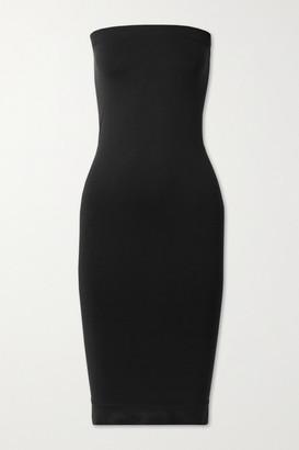 Commando Minimalist Strapless Stretch-jersey Dress - Black