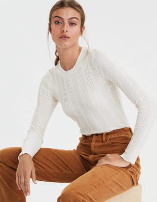 AE Crew Neck Bodycon Sweater