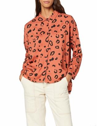 Compañía Fantástica COMPANIA FANTASTICA Women's Camisa Oversize Print Shirt