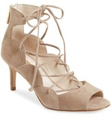Louise et Cie Women's Havra Ghillie Peep-Toe Pump