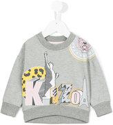 Kenzo multi icon print sweatshirt - kids - Cotton - 36 mth