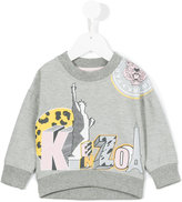 Kenzo multi icon print sweatshirt