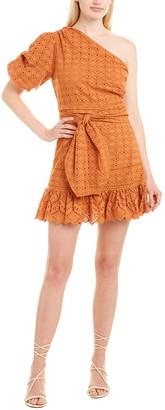 Allison Eyelet Mini Dress