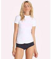 Billabong Women's Core Loose Fit Short Sleeve Wet Shirt Rashguard