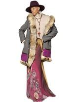 Etro Lapin & Murmansky Fur Wool Cloth Coat