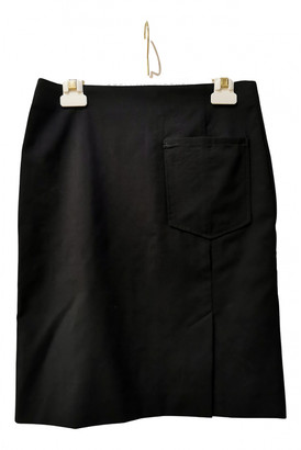 Acne Studios Black Wool Skirts