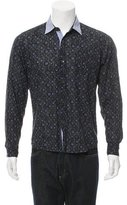 Dries Van Noten Printed Button-Up Shirt