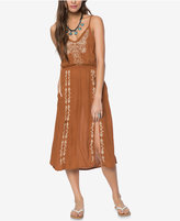 O'Neill Juniors' Mustang Embroidered Midi Dress