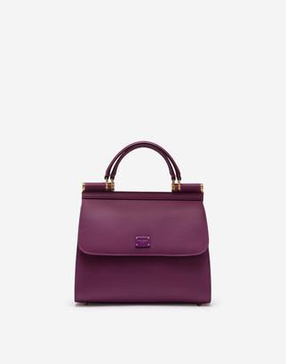 Dolce & Gabbana Medium Calfskin Sicily 58 Bag