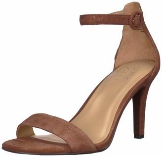 Naturalizer Womens Kinsley Frappe Glitter Dust Heeled Sandals 8.5 M