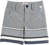 Il Gufo Cotton & Linen Blend Shorts