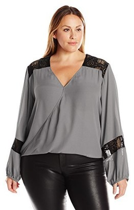 Single Dress Women's Plus Size Leona Blouse