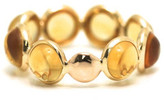 Tresor Collection - Citrine Stackable Ring Band in 18K Yellow Gold