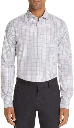 Bloomingdale's The Men's Store at Bi-Color Plaid Classic Fit Shirt - 100% Exclusive