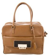 Anya Hindmarch Leather Carker Satchel