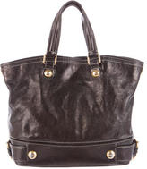 Dolce & Gabbana Oiled Leather Satchel