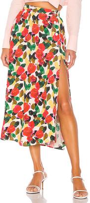 L'Academie The Linda Midi Skirt