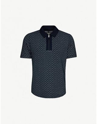 Prevu Solander woven polo shirt