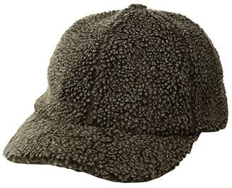 San Diego Hat Company CTH8142 Washed Faux Sherpa Ball Cap