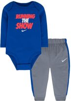 Nike Baby Boy Graphic Bodysuit & Pants Set