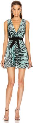 BROGNANO Mini Dress in Zebra | FWRD