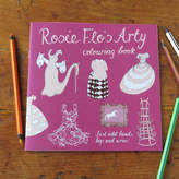 Flos Rosie Flo's colouring books Rosie Flo's Arty Colouring Book