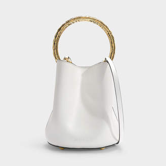 Marni Pannier Bag In Lily White