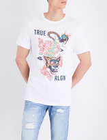 True Religion Guardian printed cotton-jersey T-shirt