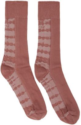 Issey Miyake Pink Dyeing Socks
