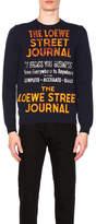 Loewe Street Journal Sweater