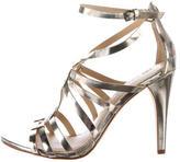 Vera Wang Haru Mirror Multistrap Sandals