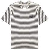 LOEWE Striped Cotton And Linen-blend T