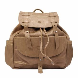 Mila Louise Women's 3250GC Backpack Handbag Brown Brown (CAMEL 18)