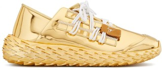 Giuseppe Zanotti Low Top Spiked Sole Sneakers