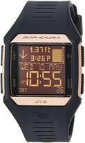 Rip Curl Women's 'Maui Mini' Quartz Plastic and Polyurethane Sport Watch, Color:Black (Model: A1131G-RSG)