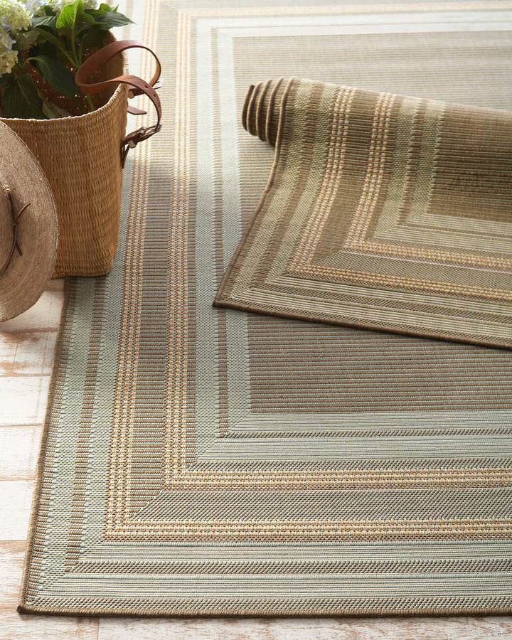 "Horchow ""Terrace Etched"" Rug"