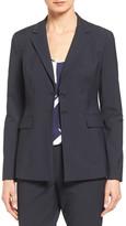 Classiques Entier Pinstripe Suit Jacket (Petite)