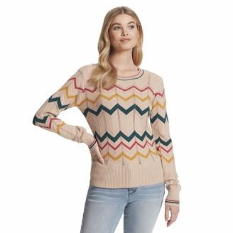 Jessica Simpson Women's Marcelina Cute Crew Neck Sweater