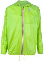 K-Way hooded drawstring jacket