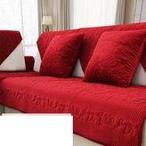 yayali plush sofa cushions Wintr fabric slip sofa towl modrn and simpl flannl cushion