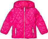 Ticket to Heaven Magenta Pink Comerzo Jacket Lightweight Padding With Detachable Hood