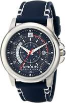 Sperry Men's 10018149 Skipper Analog Display Japanese Quartz Blue Watch