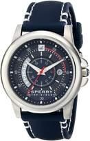 Sperry Men's Skipper Blue Silicone Strap Watch 42mm 103191